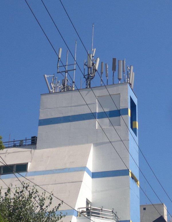 Rootftop antennas
