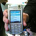 Skype on a Nokia 6680